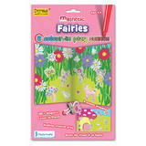 Fairies - Colour in Play Scene 54 Magnets & Reversible Board by Fiesta Crafts