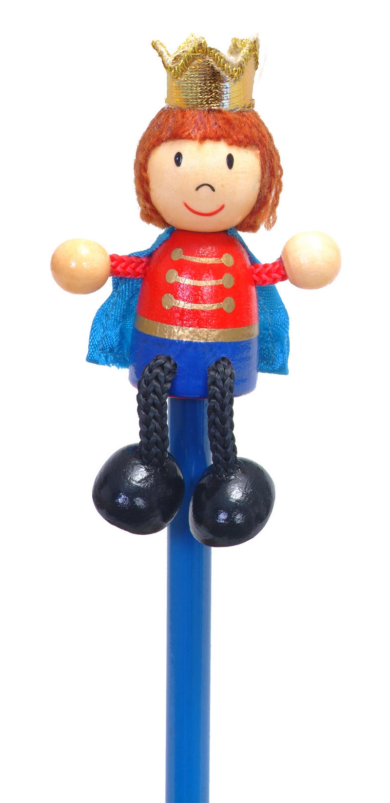Hand Painted Prince Character Pencil & Topper Set Party Bags & Stocking Filler