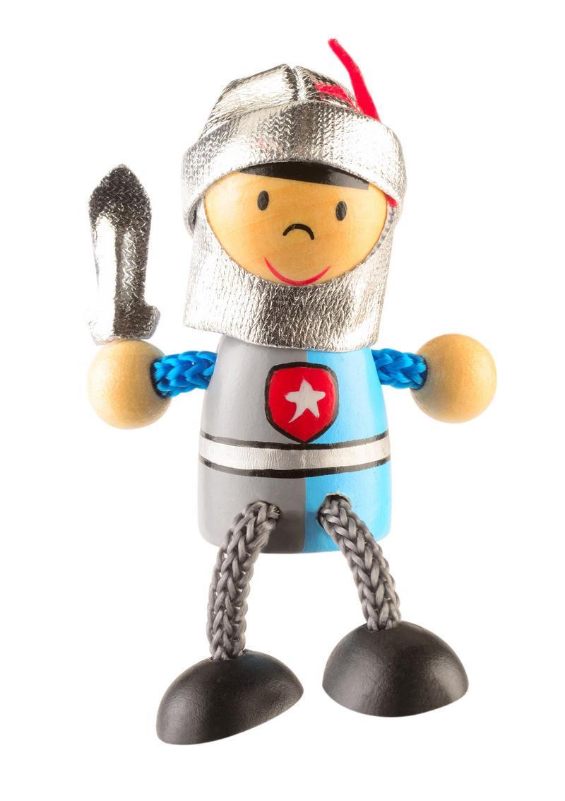 Royal Knight Fridge Magnet Toy by Fiesta Crafts - 3cm x 6cm - Age 3+