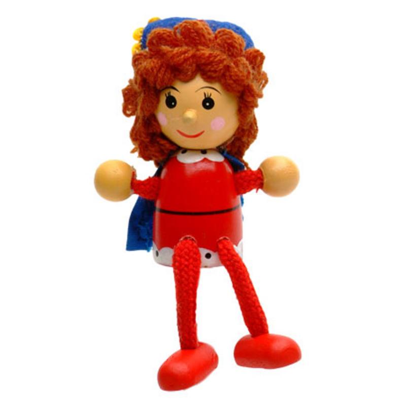 Queen Fridge Magnet Toy by Fiesta Crafts - 3cm x 6cm - Age 3+