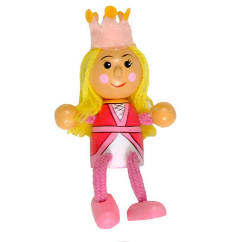 Princess Fridge Magnet Toy by Fiesta Crafts - 3cm x 6cm - Age 3+