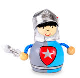 Blue Royal Knight  Pencil Sharpener by Fiesta Crafts - Hand Painted Finish