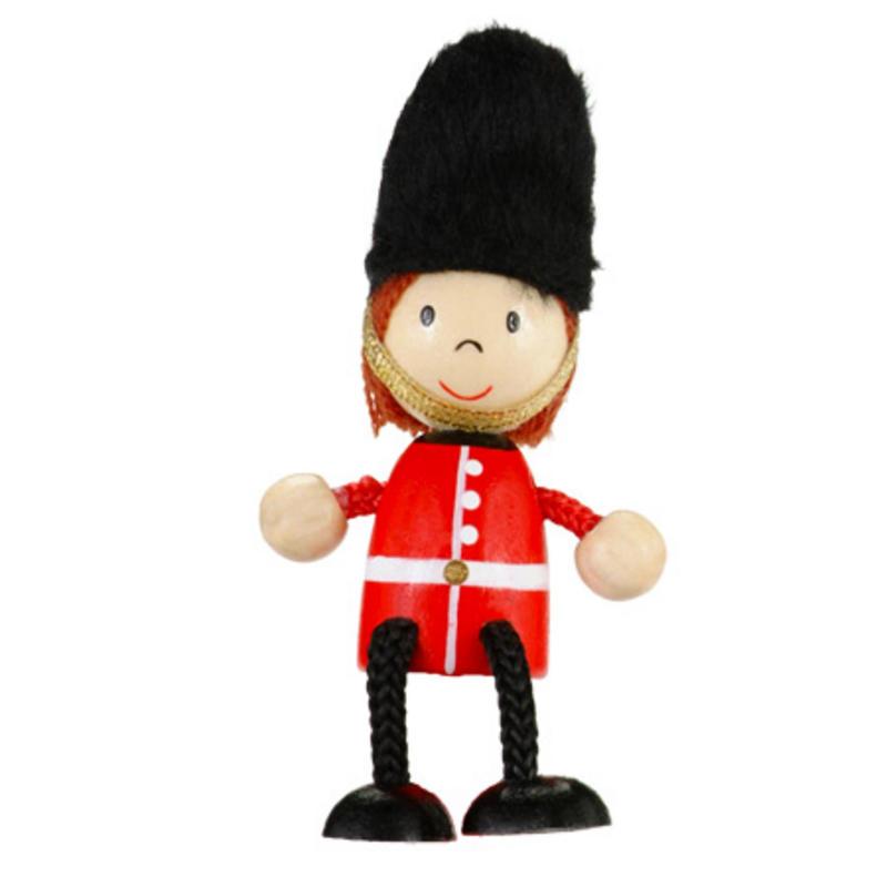 Royal Guard Fridge Magnet Toy by Fiesta Crafts - 3cm x 6cm - Age 3+
