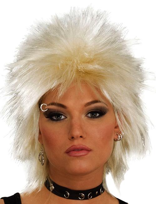 Blonde Punk Wig 76