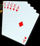 "Jumbo Playing Cards 5"" X 7"" Or 13Cm X 18Cm Novelty Class Room Fun Joke  Poker"