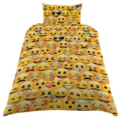 Emoji housse couette simple ensemble couverture taie for Housse de couette traduction