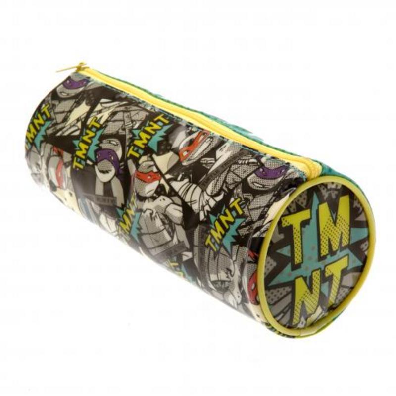 Teenage Mutant Ninja Turtles Barrel Pencil Case TMNT