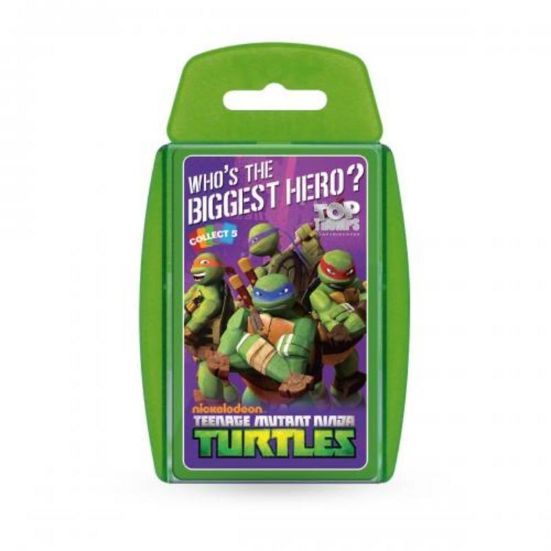 Teenage Mutant Ninja Turtles Top Trumps Card Game TMNT