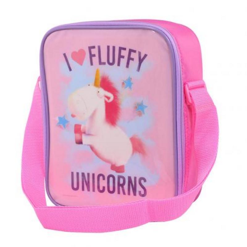 Despicable Me Minion School Picnics Lunch Bag Fluffy Unicorn