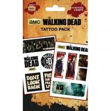 The Walking Dead Tattoo Pack Pack Fake Temporary