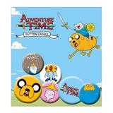 Adventure Time Button Badge Set 6 Piece Lapel Pin Gift Set