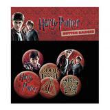 Harry Potter Button Badge Set 6 Piece Lapel Pin Gift Set
