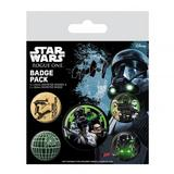 Star Wars Rogue One Button Badge Collectors Set Empire