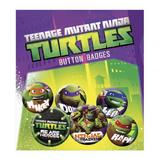 Teenage Mutant Ninja Turtles TMNT Button Badge Set 6 Piece Lapel Pin Gift Set