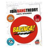 The Big Bang Theory Sticker Pack Set