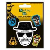Breaking Bad Stickers Heisenberg 5 Pack Set