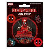 Deadpool Sticker Pack Set