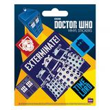 Doctor Who Sticker Pack Set