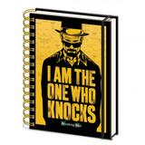Breaking Bad A5 Lined Notebook Spiral Notepad