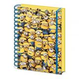 Despicable Me A5 Notebook Stationary Pad 3D Minions