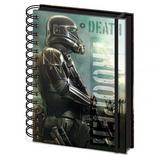 Star Wars Rogue One A5 Notebook Death Trooper