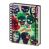 Suicide Squad A5 Lines Notebook Spiral Notepad