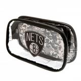 Brooklyn Nets Clear Pencil Case With Strong Zip