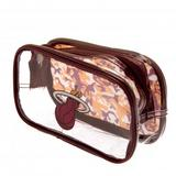 Miami Heat Clear Pencil Case With Strong Zip