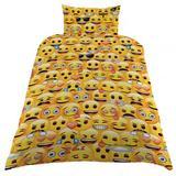 Emoji Single Duvet Cover Cover Set & Pillow Case YL