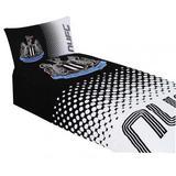 Newcastle United Fc Duvet Set FD Single Quilt Cover & Pillow Case