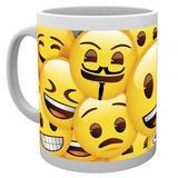 Emoji Novelty Ceramic Mug Icons Gift For Him or Her