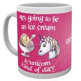 Emoji Novelty Ceramic Mug Unicorn  Gift For Him or Her