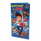 Paw Patrol Birthday Card Boy