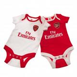 Arsenal Fc 2 Pack Vests 12/18 mths CP Baby Clothing Football Kit