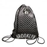 Brooklyn Nets NBA Drawstring Gym Swimming Sports Bag FD