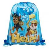 Paw Patrol Drawstring Swimming School Bag Rucksack