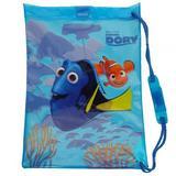 Finding Dory Nemo Swim Drawstring Gym Bag Swimming School Backpack