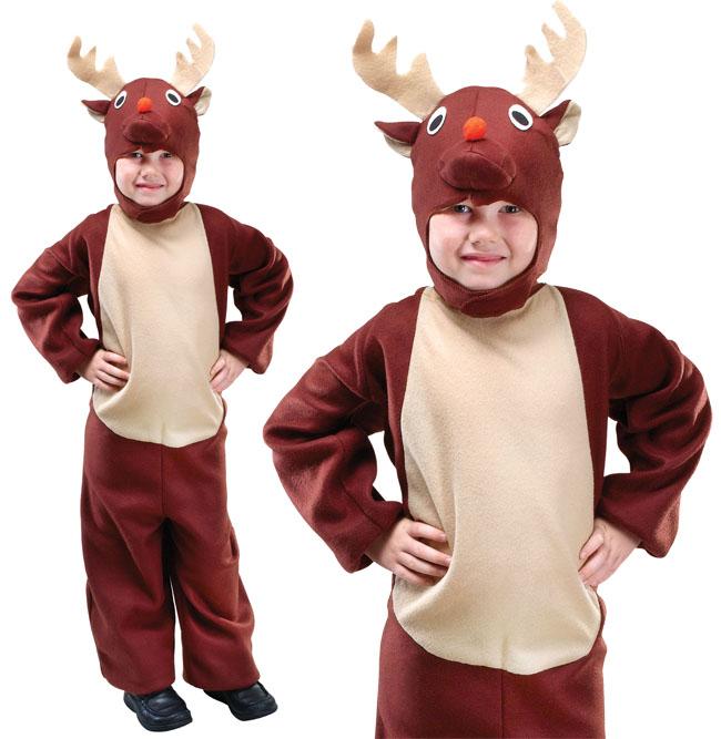 d guisement costume enfants renne rodolphe no l tenue 2 3 ans ebay. Black Bedroom Furniture Sets. Home Design Ideas