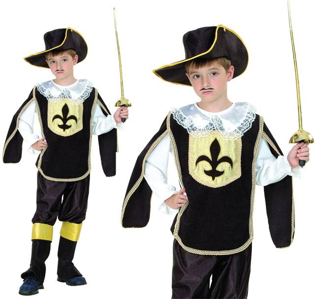kinder musketier junge kost m uniform 4 6 jahre ebay. Black Bedroom Furniture Sets. Home Design Ideas