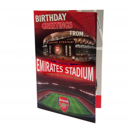 Arsenal Fc PopUp Birthday Card Football Team Emirates Stadium The – Football Team Birthday Cards