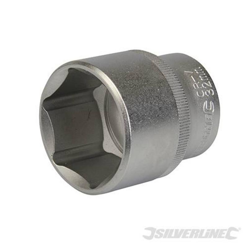 """Silverline Drive Metric Socket 1/2"""" 32Mm"""