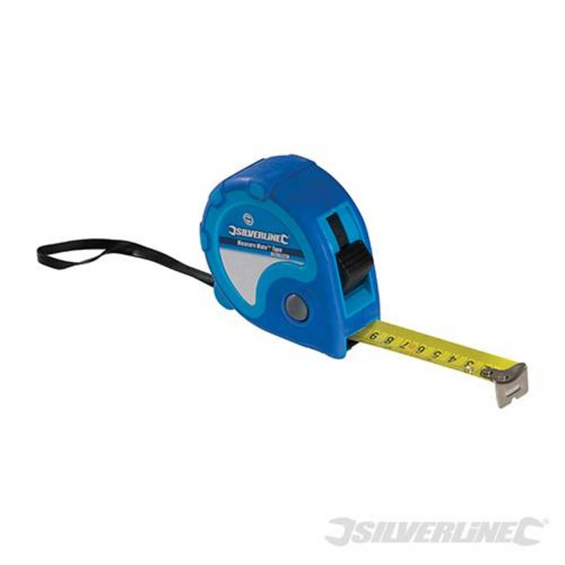 Silverline Measuring Tape 10M X 25Mm
