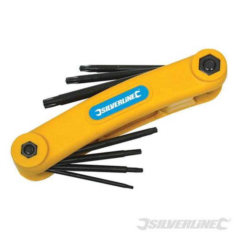 Silverline 7-Piece Key Tool T10-T40