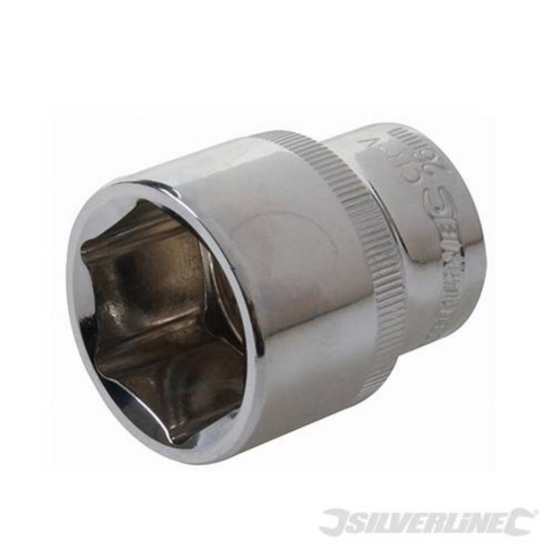 """Silverline 1/2"""" Drive Metric Socket 26Mm"""