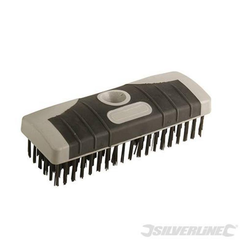 Silverline Detachable Steel Wire Broom Head 6 Row