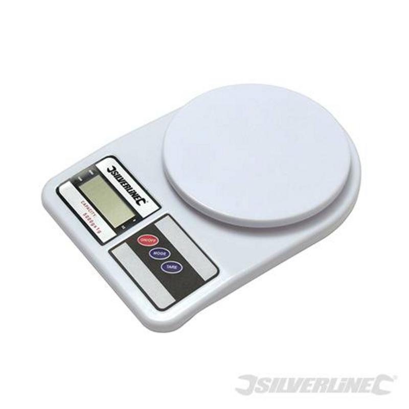 Silverline Digital Scales 5Kg