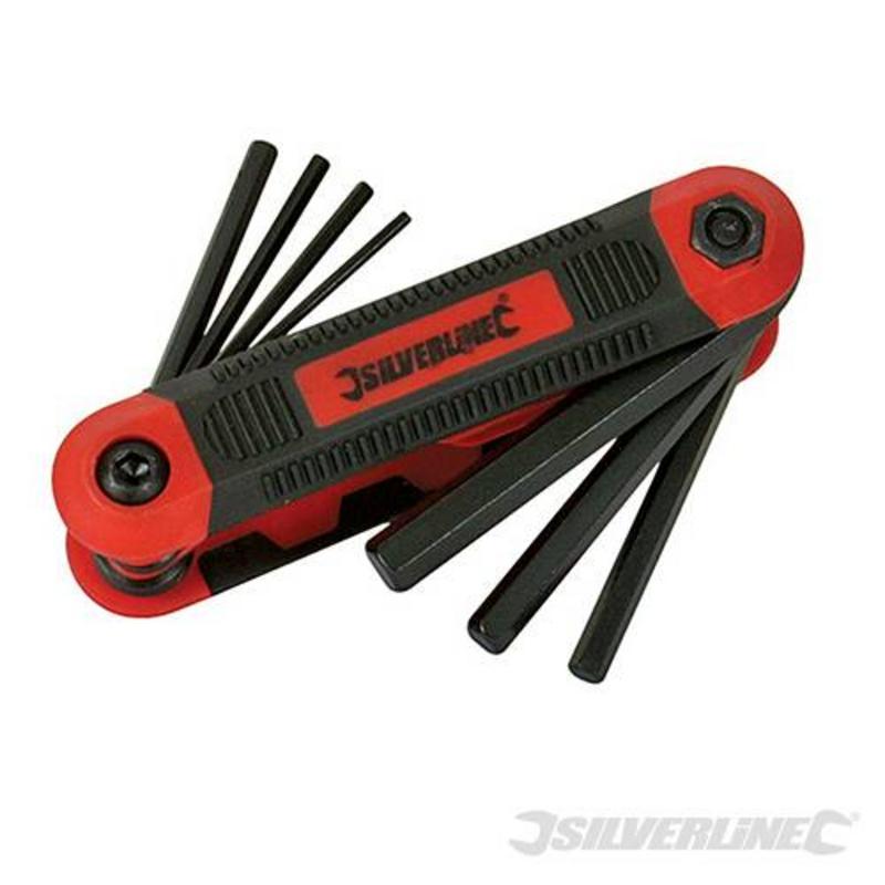 Silverline 8 Piece Hex Key Metric Expert Tool 1.5-8Mm
