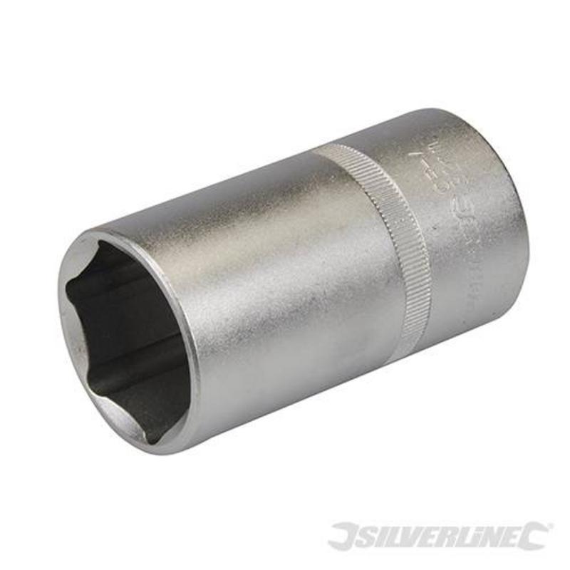"""Silverline 1/2"""" Drive Deep Socket 32Mm"""