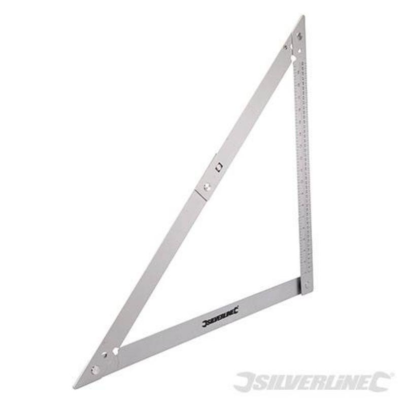 Silverline Measuring Folding Frame Square 600Mm