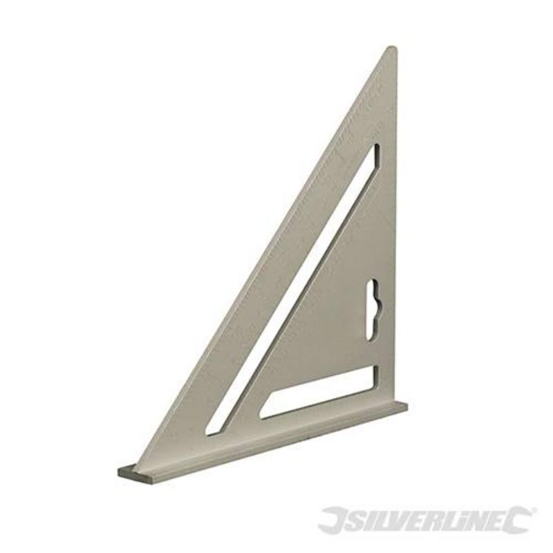 "Silverline Heavy Duty Aluminium Roofing Rafter 7"" Square"